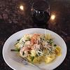 Shrimp & Asparagus with Pappardelle