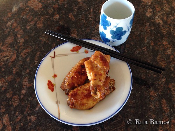 Honey-Glazed Shoyu Chicken Wings