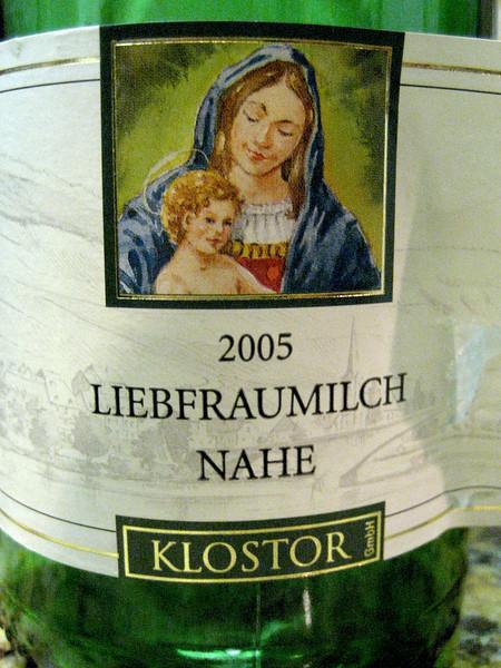Klostor Liebfraumilch Nahe 2005