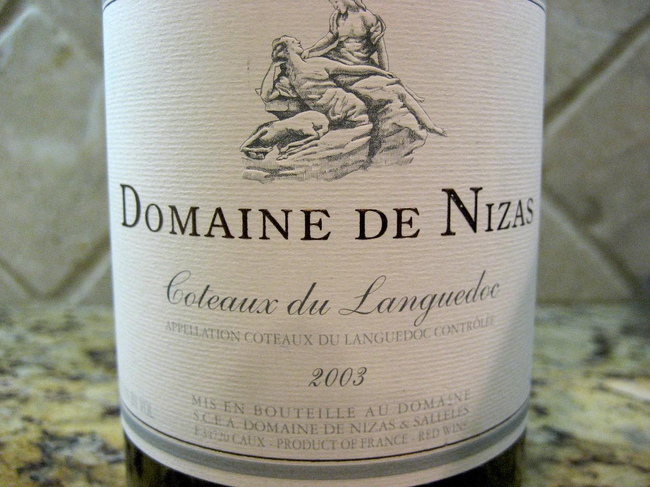 Domaine de Nizas 2003