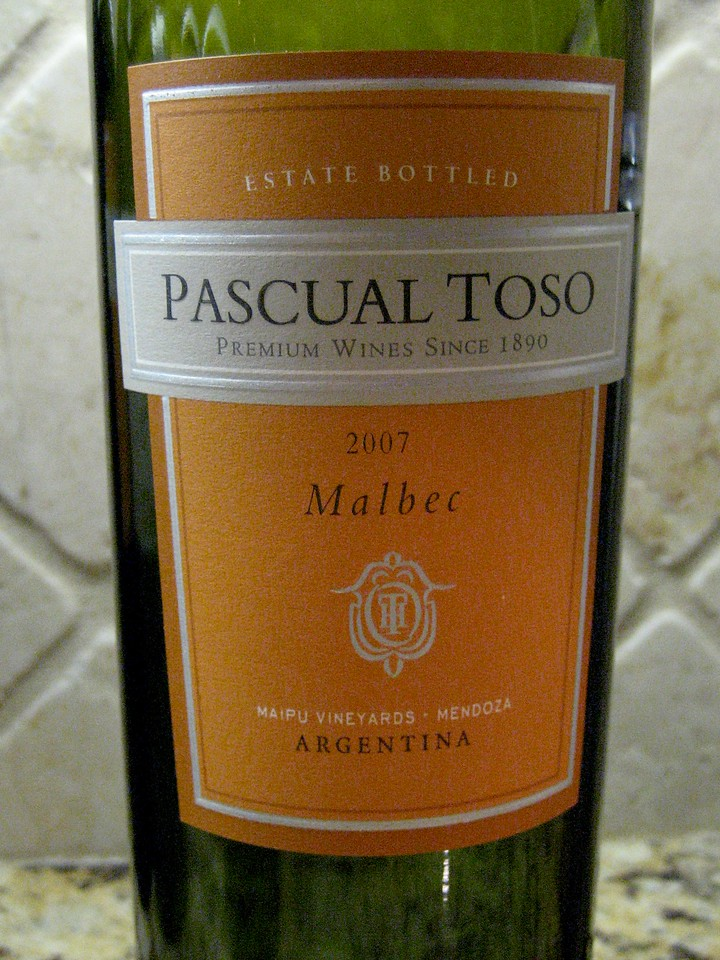 Pascual Toso Malbec 2007