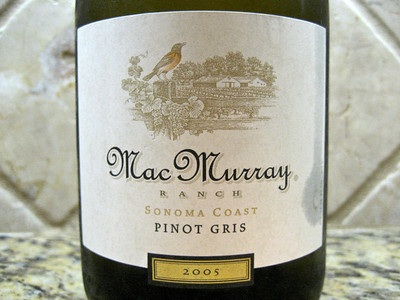 Mac Murray Ranch Pinot Gris 2005