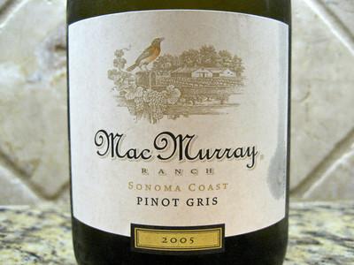 Mac Murray Ranch Pinot Gris 2005
