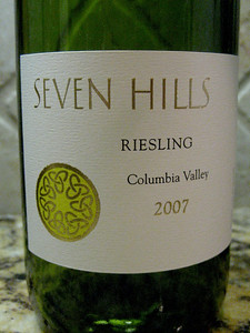 Seven Hills Riesling 2007