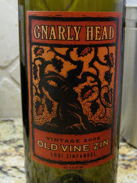 Gnarly Head Old Vine Zin 2006