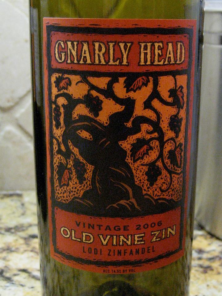 Gnarly Head Old Vine Zin 2006