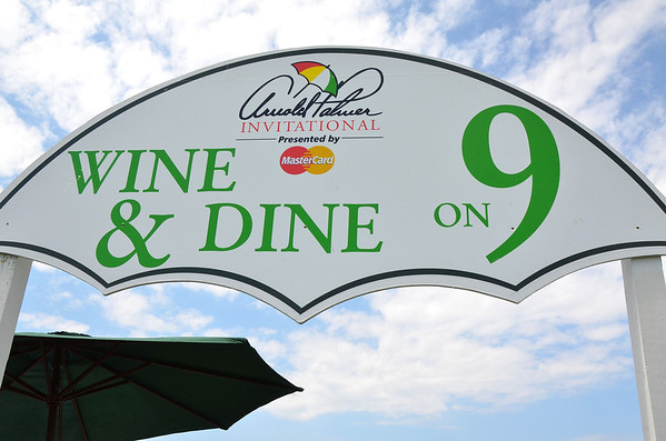 Wine & Dine on 9 at 2013 Arnold Palmer Invitational