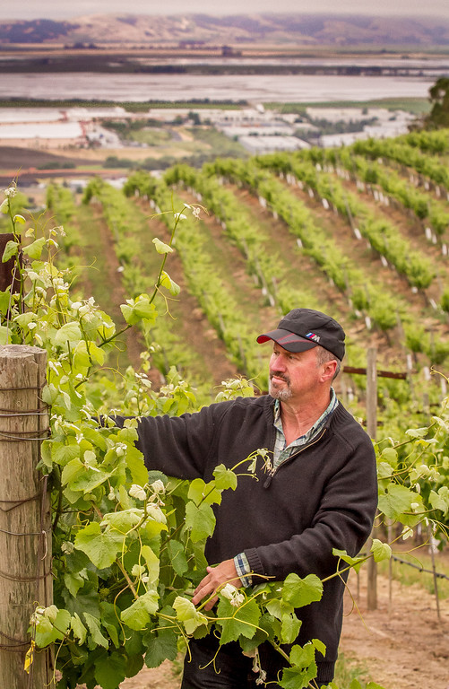 Winemaker Michael Havens