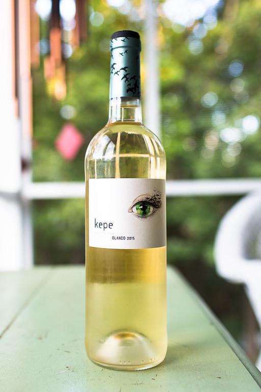 Kepe Blanco 2015 - a white wine blend
