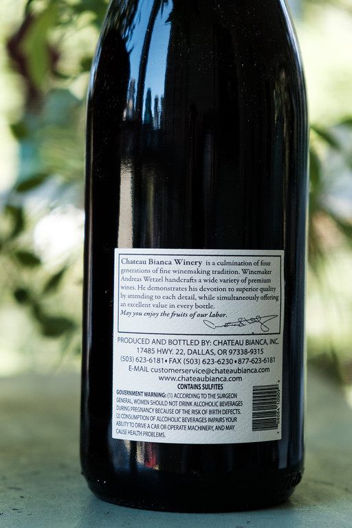Chateau Bianca 2011 Pinot Noir