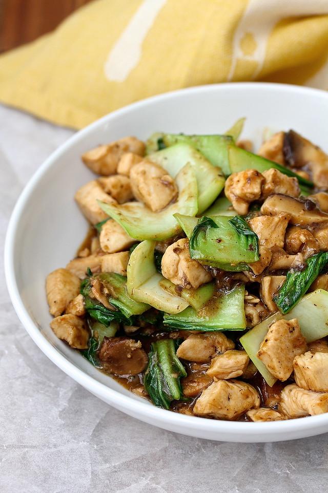 Chicken Chow Fun from Karen's Kitchen Stories