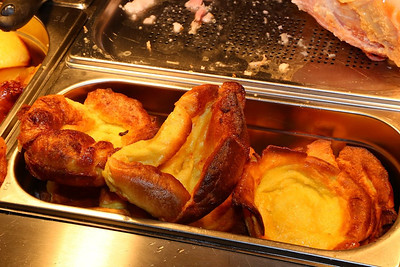 "Yorkshire Pudding - as part of the Carvery. Served in ""the ""Nags Head Tavern"" in Taunton  03/05/14"