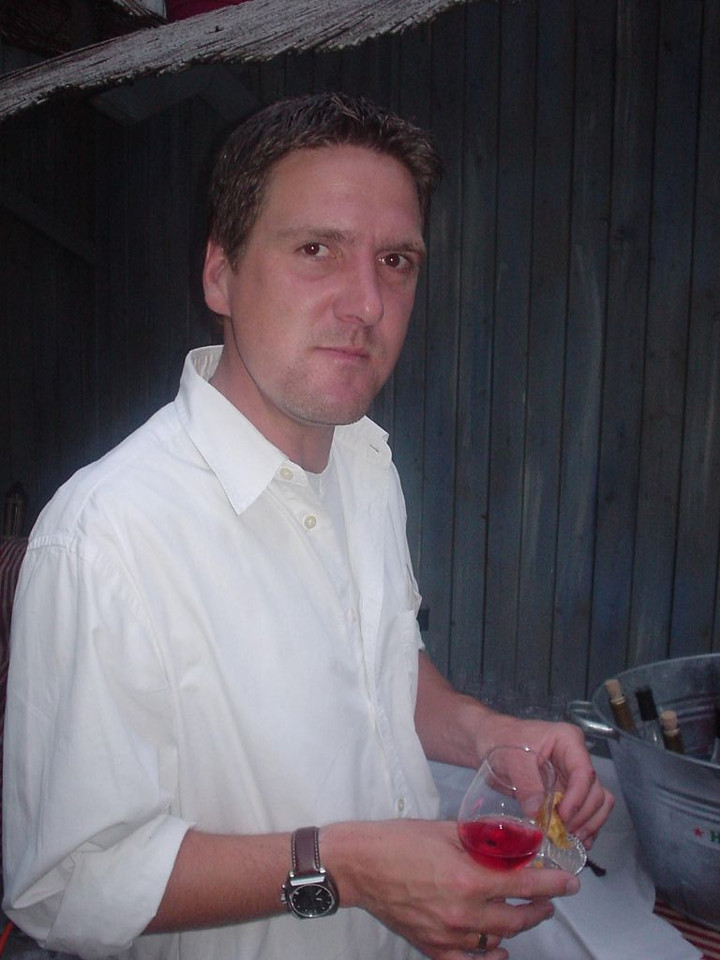 Sander aka ZANDhapper at the rosé