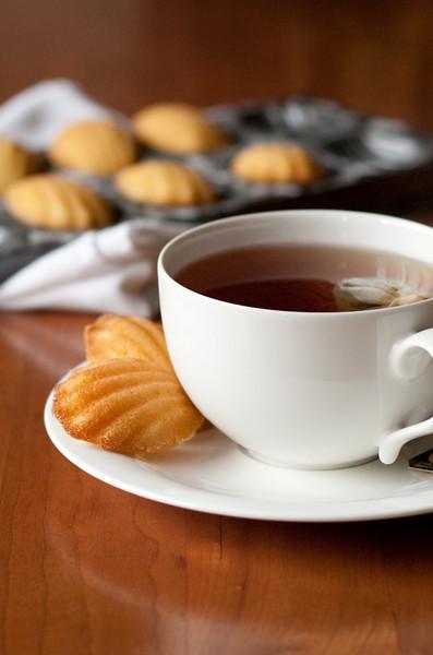 Tea and madeleines.