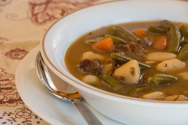 Home made beef stew.