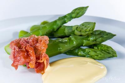 Chef's Presentation Dish - Asparagus