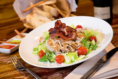 "Chicken Mozzarella ""BLT"" Salad"