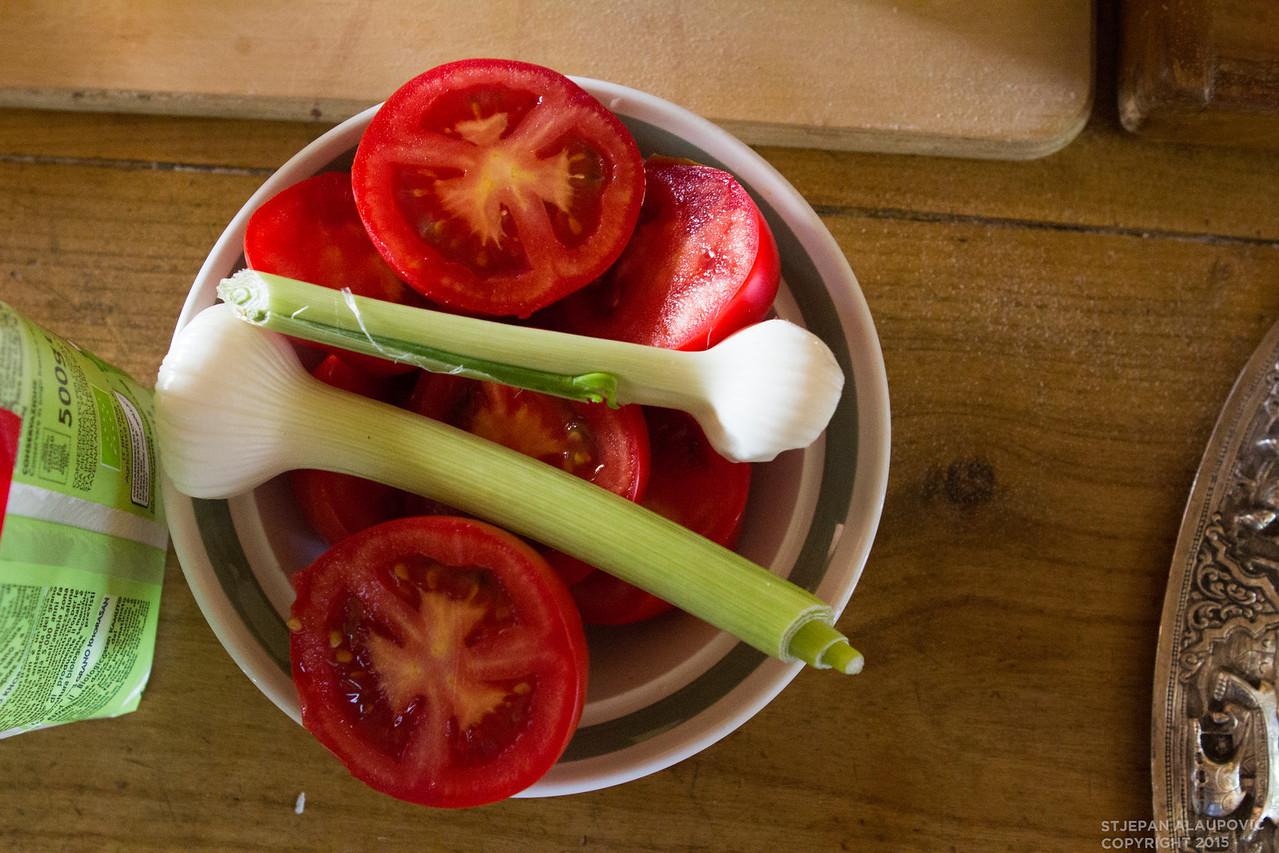 Tomatoes & Garlic