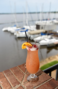 One of the favorite drinks at the Jackson Yacht Club in Ridgeland is Mike's Breeze.