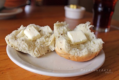 Caraway Rolls with Butter
