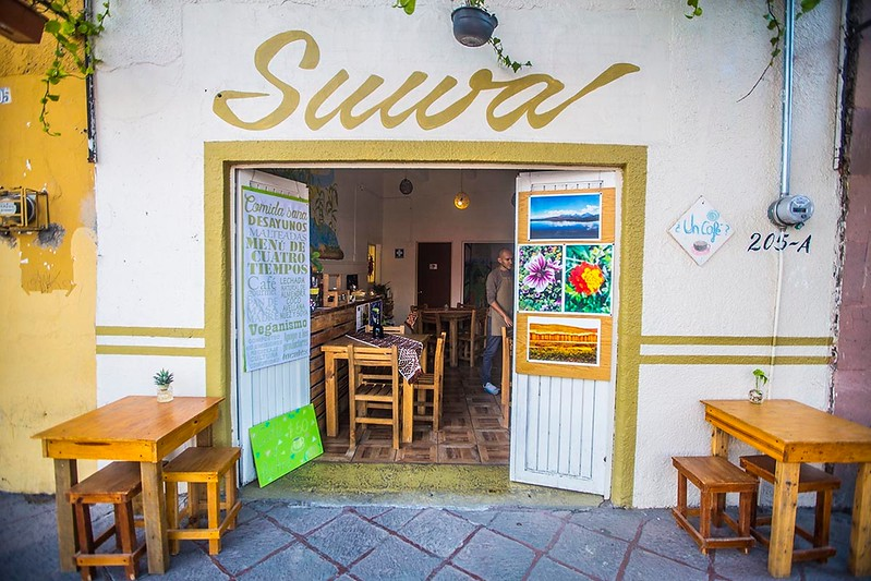 Suwa Vegan Restaurant in Queretaro, Mexico