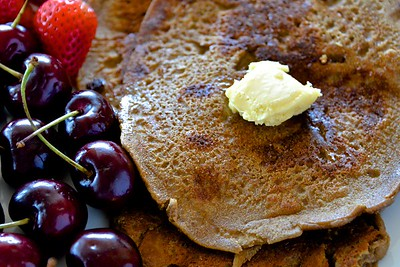 Healthy Pancakes with Butter