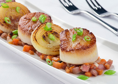 Scallops - Atrium Cafe
