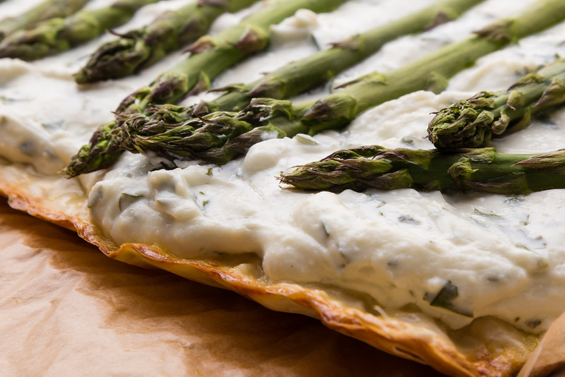 asparagus cheese pie