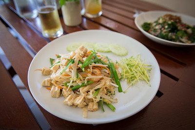 Pad Thai at Sweet Sisters Cafe