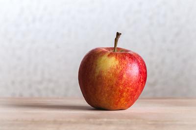 Rosy apple