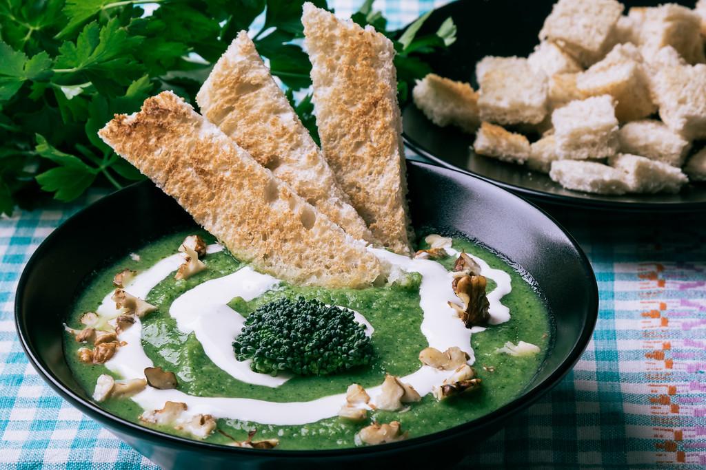 broccoli cream soup