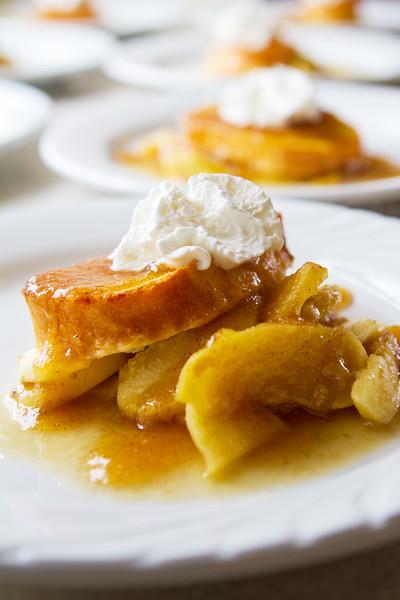 Overnight Apple French Toast