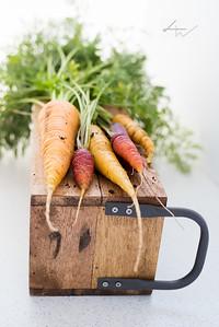 Crisp air, crisp carrots