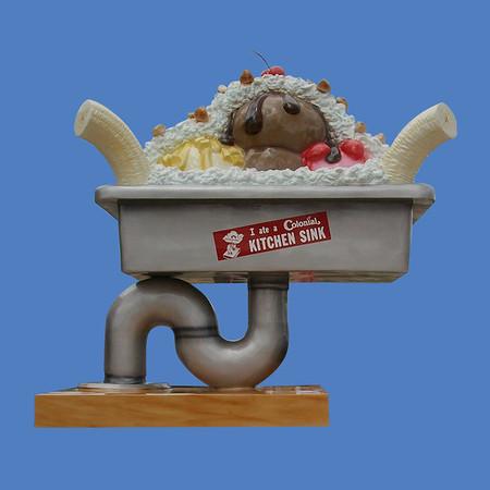 Kitchen Sink Sundae, 11'H #6143