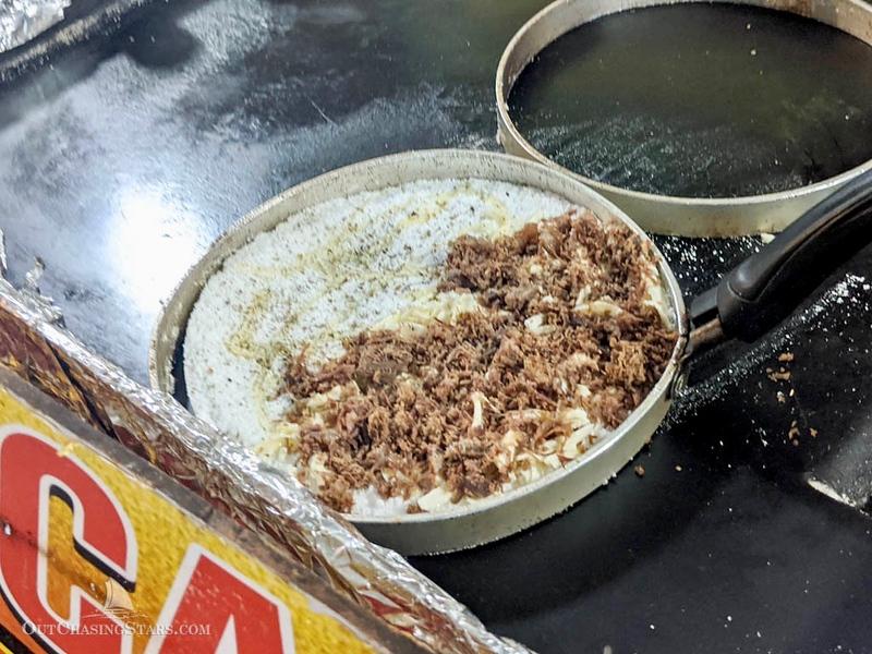 Brazilian Cuisine: Tapioca in Recife, Brazil