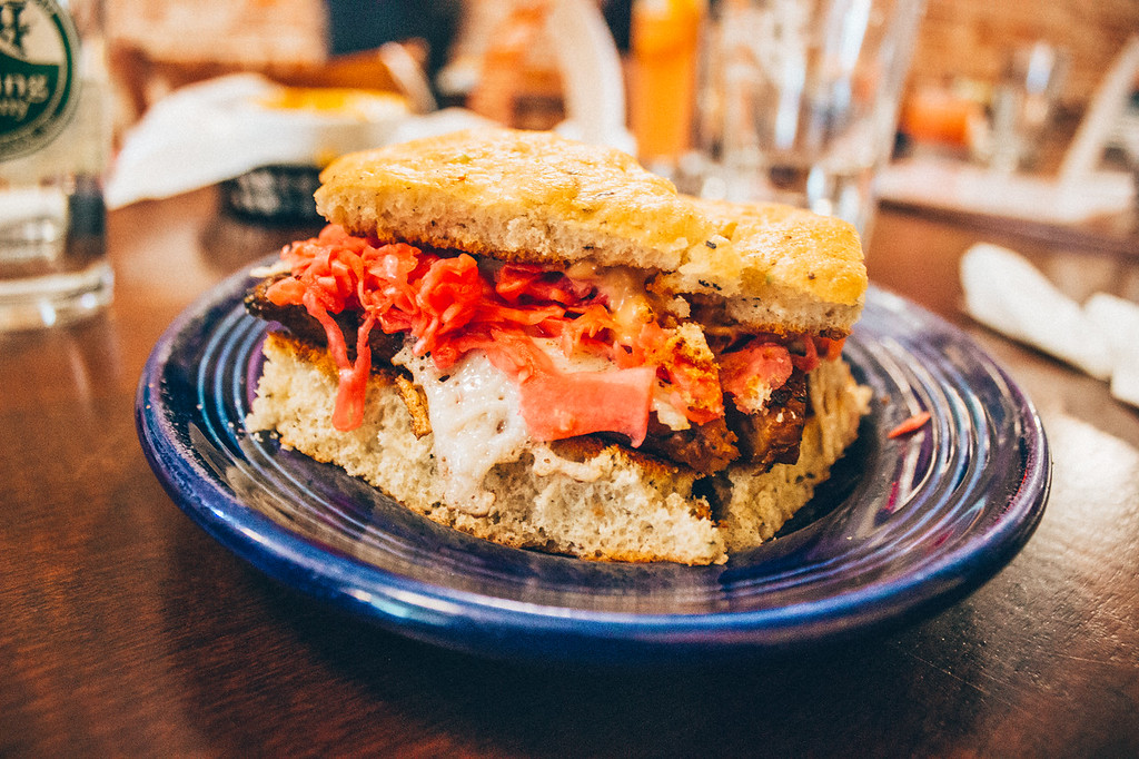 Rosetta's Kitchen, an all-vegetarian restaurant in Asheville North Carolina