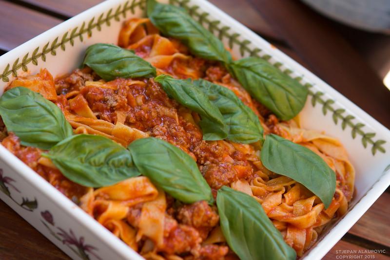 Meat Pasta Dish