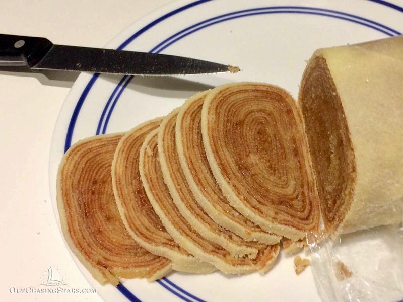 Brazilian Cuisine: bolo de rolo in Recife, Brazil