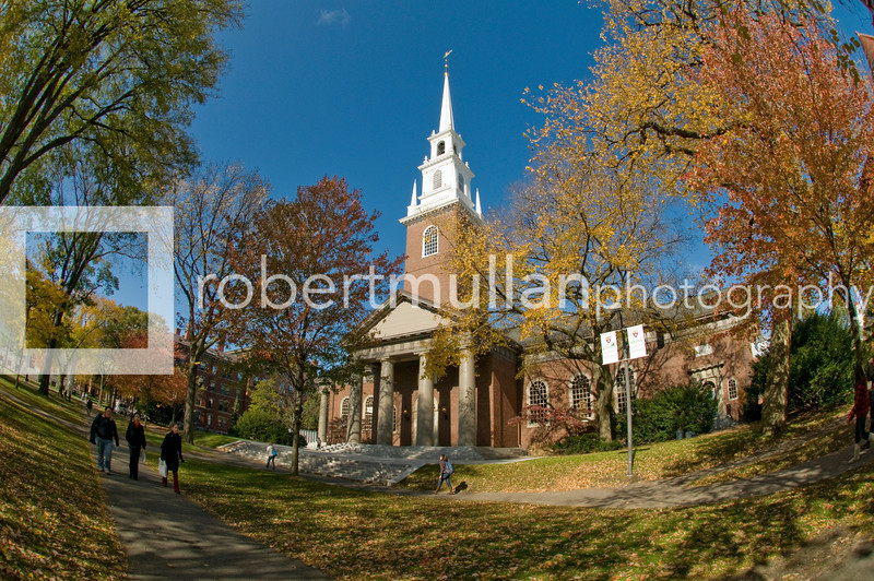 Memorial Church in Harvard University, Cambridge, Massachusetts, USA