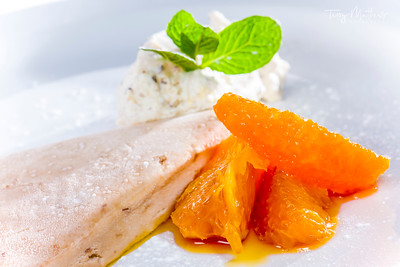Chef's Presentation Dish - Dessert