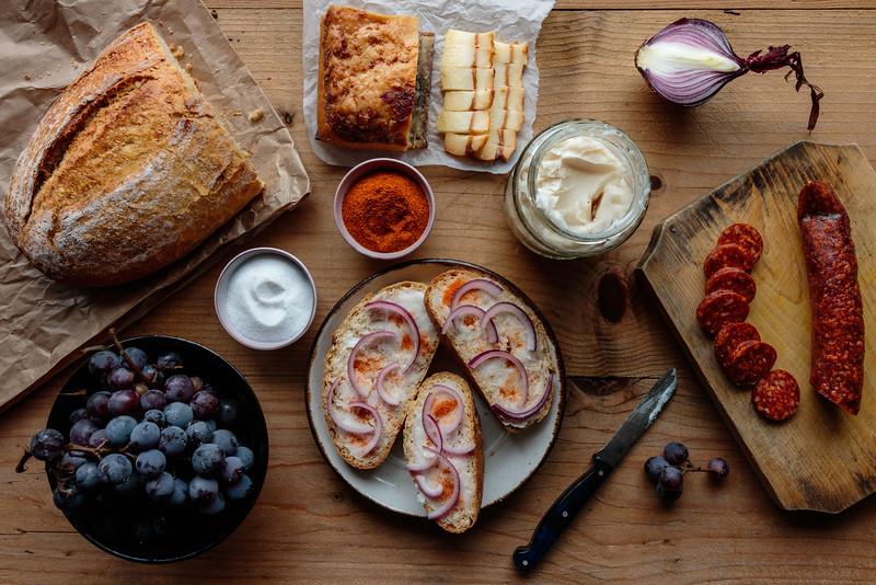traditional transylvanian breakfast