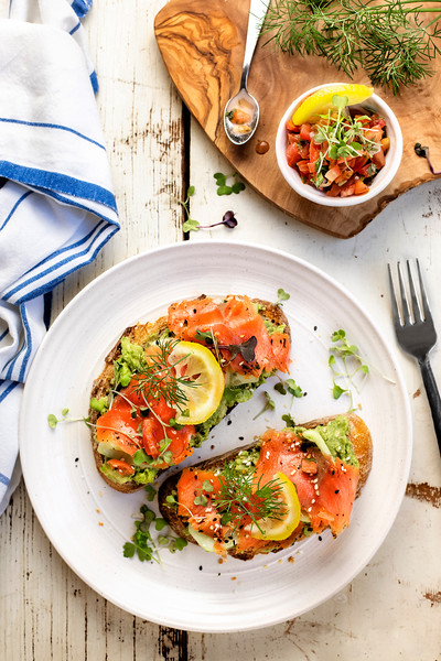 Avocado Salmon Toast