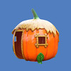 Pumpkin Hut, 8'H #6115