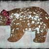 Molasses Bear Cookie