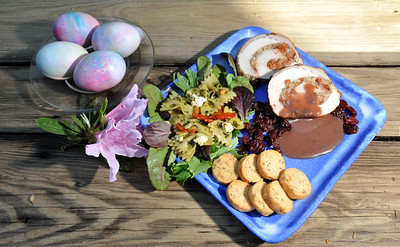 Easter food for spring prepared by Camillle Peeoples with the online food service feast-sf.com.