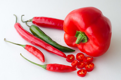 Capsicum & chillies