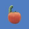 Tomato with Caterpillar #6017<br /> Tomato, 3'H  #6060