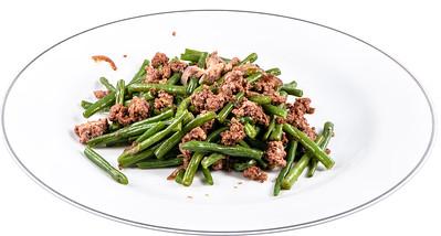 Grüne Bohnen mit Hackfleisch
