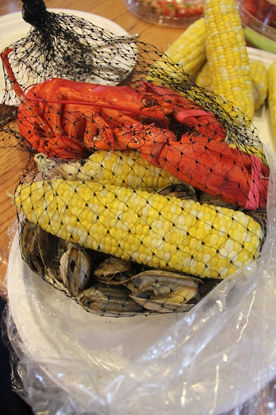 Lobster, Steamers and Corn on the Cob