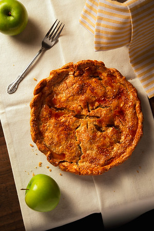 Rustic Country Apple Pie